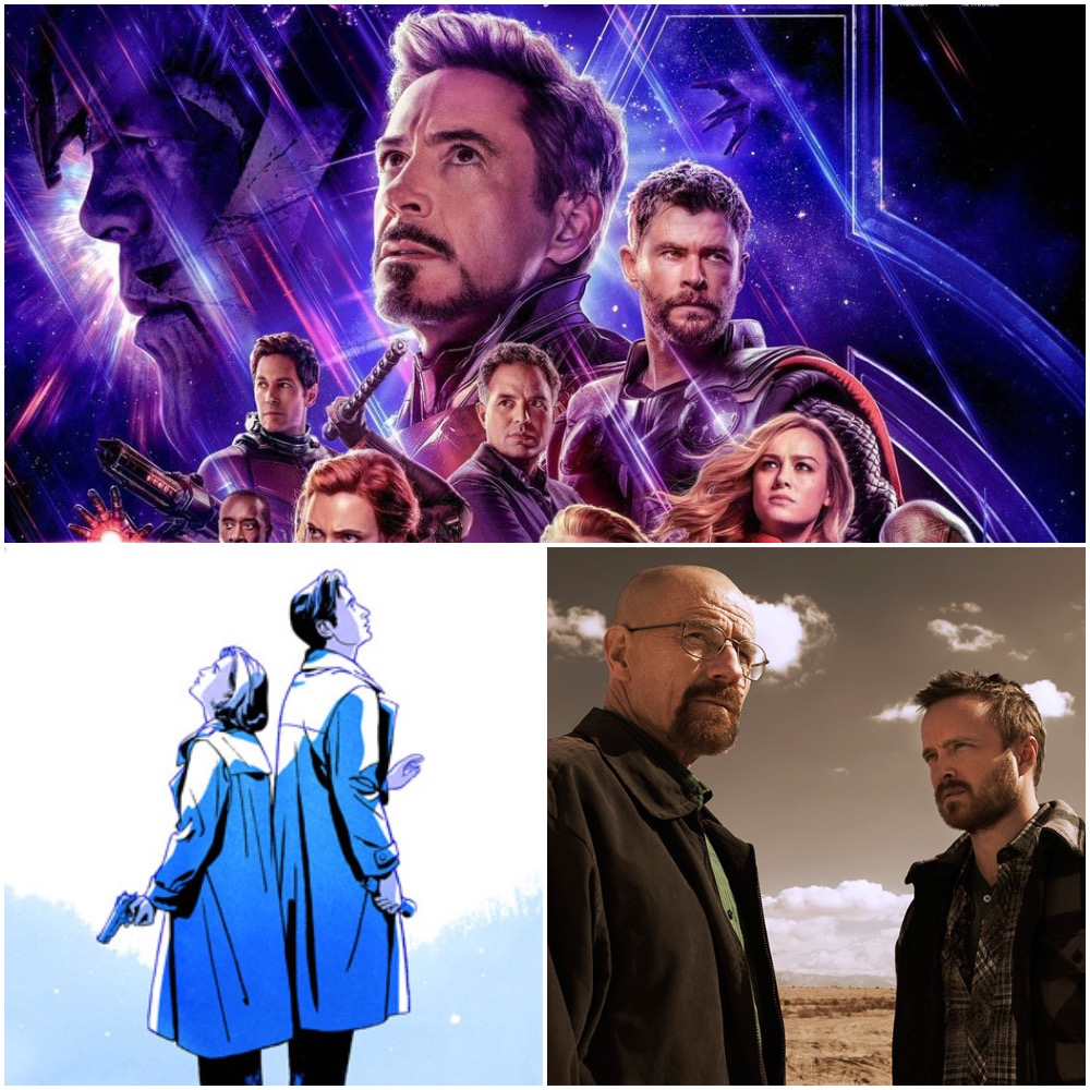 TV, Book and Movie Roundup – April 2019