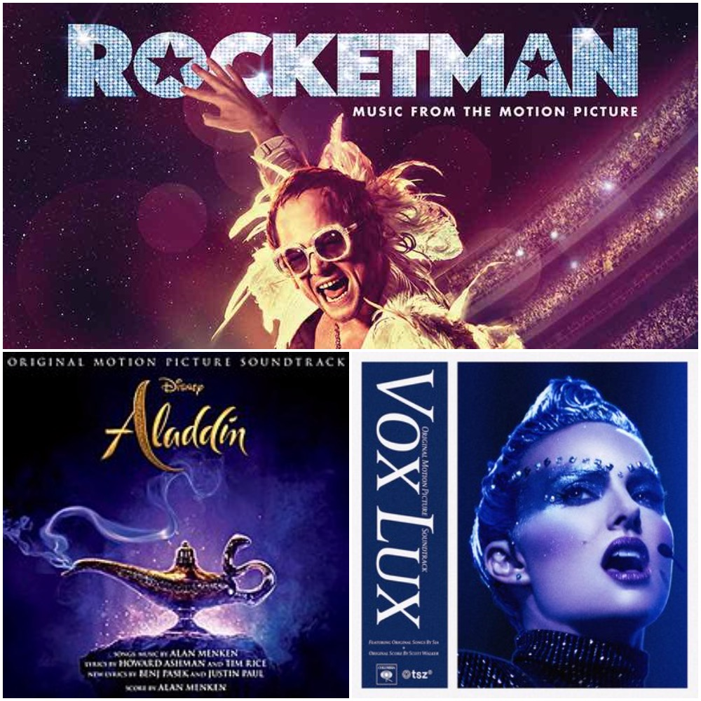 New Podcast: Between the Notes – 'Aladdin / Vox Lux / Rocketman'