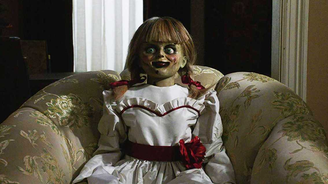 ANNABELLE COMES HOME to a universe of both villains *and* (super)heroes
